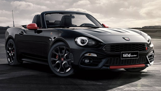 abarth 124 spider summer lease fino a 30 settembre lunatici. Black Bedroom Furniture Sets. Home Design Ideas