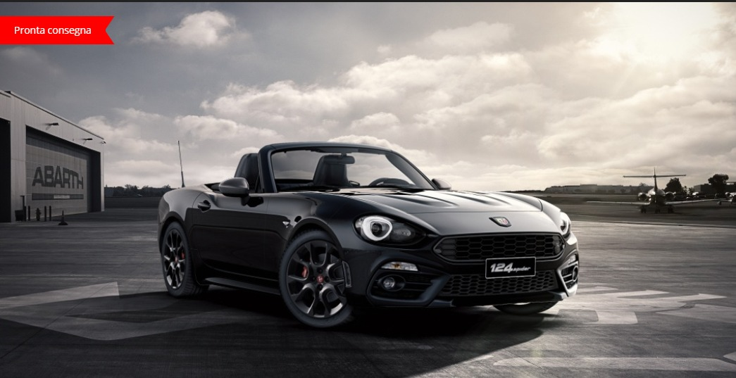 abarth 124 spider serie 0 nuovo 124 spider turismo 124 1 4 turbo multiair 170 cv mt. Black Bedroom Furniture Sets. Home Design Ideas